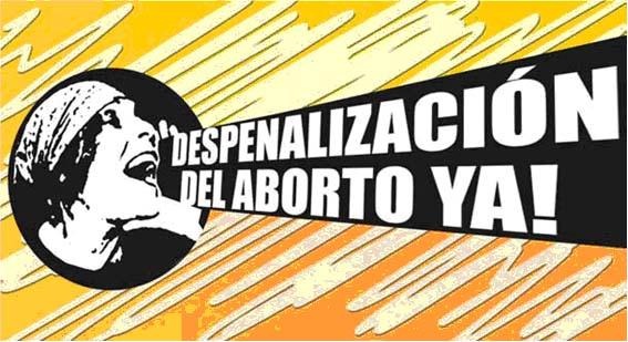"""""""Despenalización del aborto"""" """"derechos sexuales y reproductivos"""""""
