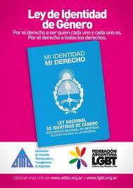 """""""Disforia de Genero"""" """"transexuales, travestis, transgeneros"""" """"derecho a la identidad"""""""