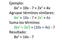 propiedades de la suma de polinomios