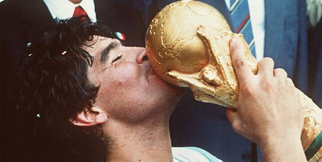 Maradona en el mundial 86