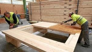madera para la construcción