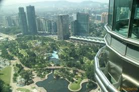 vista desde las torres petronas