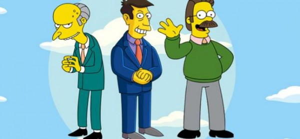 burns flanders y skinner